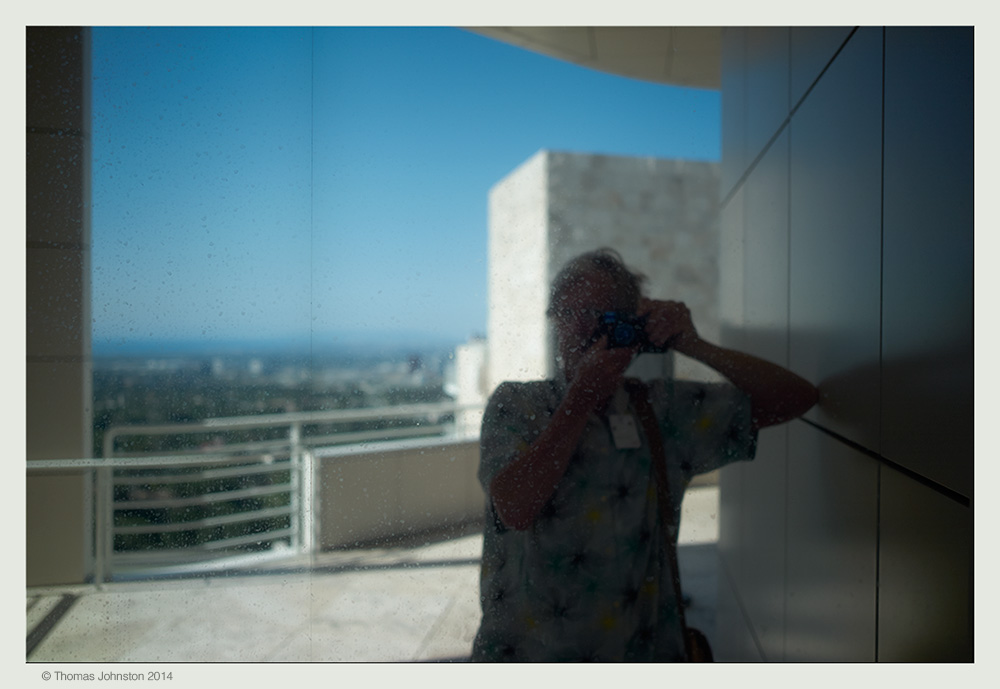 "@ the Getty Center 14 1/2"" x 22"""