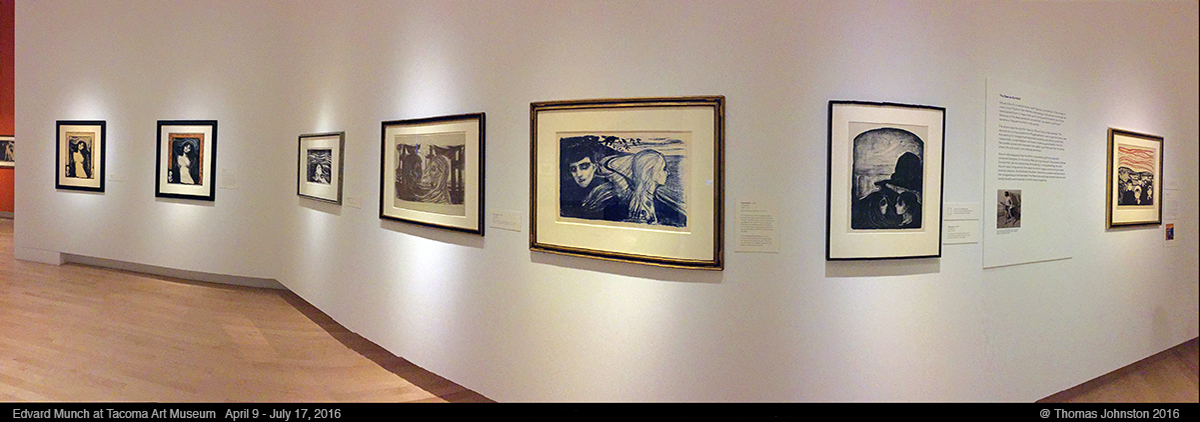 Edvard Munch and the Sea at TAM and Graphic Masters at SAM