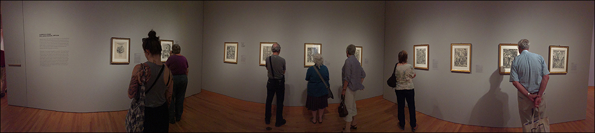 Durer, installation view Graphic Masters, Seattle Art Museum