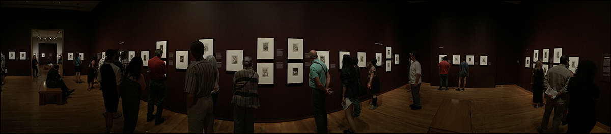 Goya: installation view Graphic Masters, Seattle Art Museum