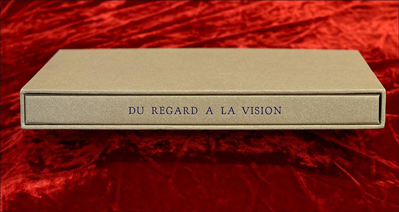 Du Regard à la Vision, a limited edition livre de luxe with five aquatints and poem, The Panther, by Rainer Maria Rilke